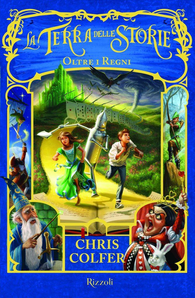 la terra delle storie oltre i regni Chris Colfer