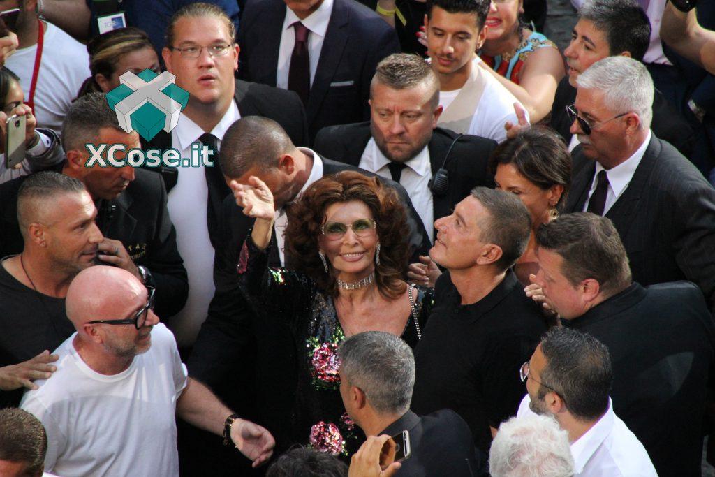 Sfilata Dolce & Gabbana (D&G) Napoli Sophia Loren Domenico Dolce Stefano Gabbana XCose