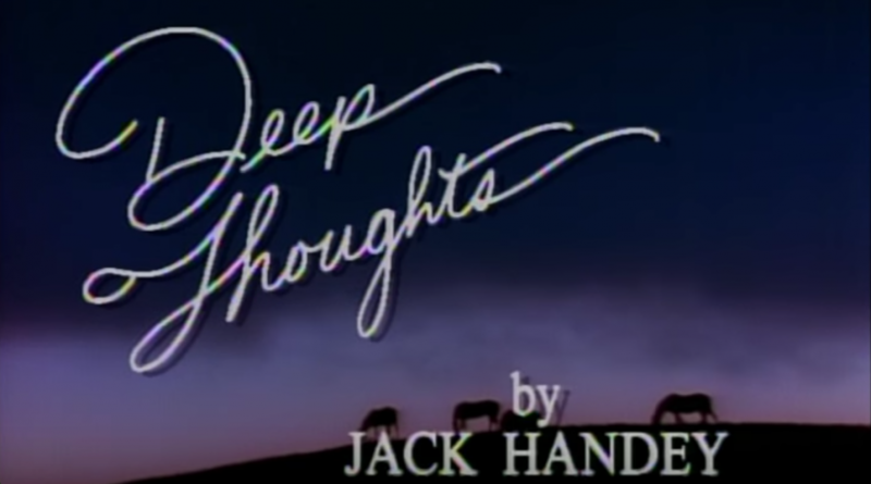 20 migliori Deep Thought by Jack Handey